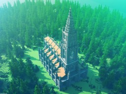 Bern Building Series #1 - Bern Minster Minecraft
