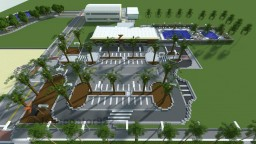 Fitness Center [+Schematic] [Featured on a SSundee Mod Review!] Minecraft Map & Project