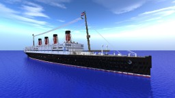 RMS Aquitania Minecraft