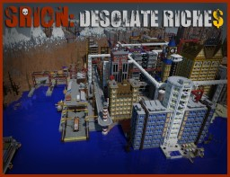 [1.8] [CTM / SURV] SRION: DESOLATE RICHES Minecraft Map & Project
