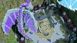 1.8 Dragon Hub 4,8 or 16 portals [Map Download] Minecraft Map & Project