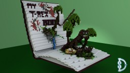 My T-Rex Book - Timelapse Minecraft Map & Project