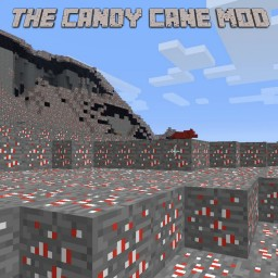 The Candy Cane Mod Minecraft Mod