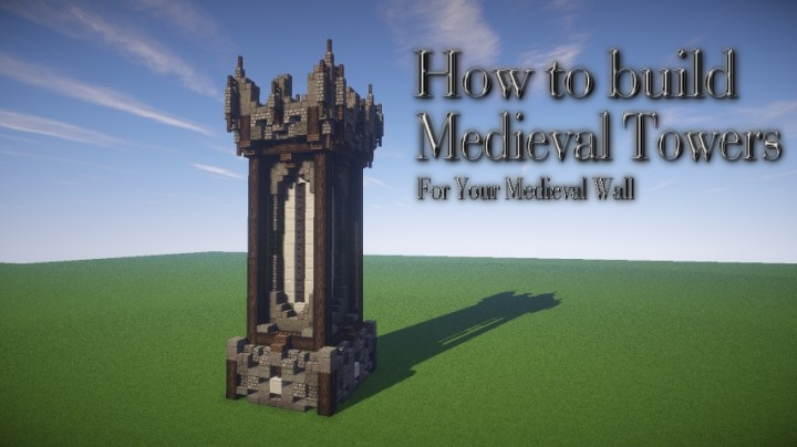 How to build a medieval tower minecraft blog for How to build a blog