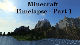 Simple Island Terrain Minecraft Map & Project