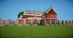 Traditional House Minecraft Map & Project
