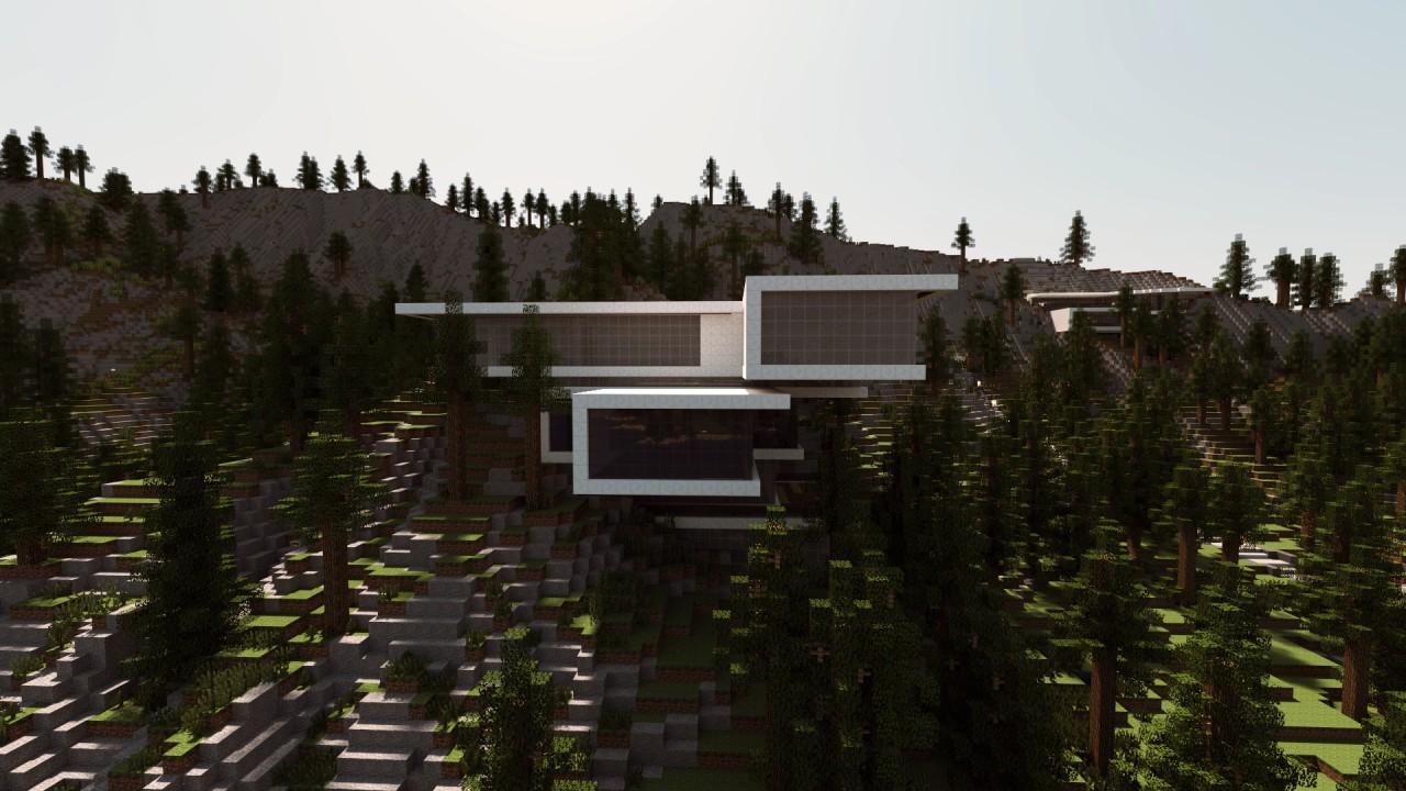 Mountainside Open Concept Mansion