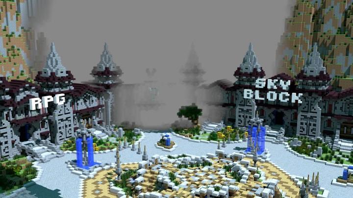 Inside Hub 2 with fog effect