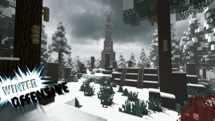 Winter Offensive- epic WWII inspired minigame- PvP map for servers