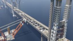 [Server]Bridge construction site Minecraft Project