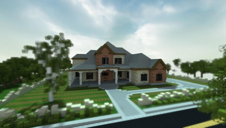 New american home minecraft project for New american homes