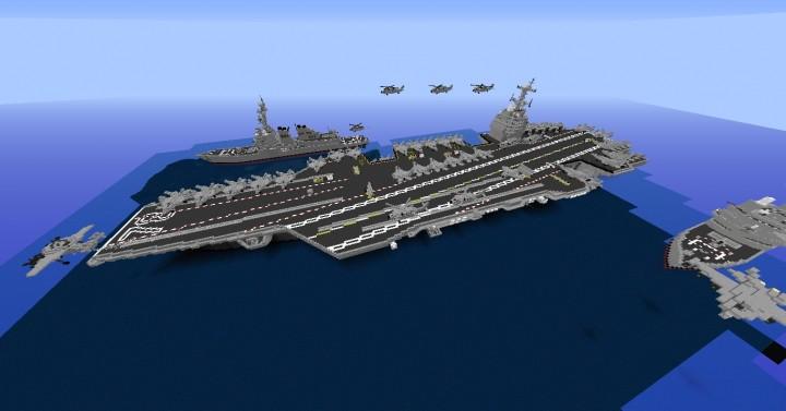 Uss Gerald R Ford Cvn 78 Class Aircraft Carrier