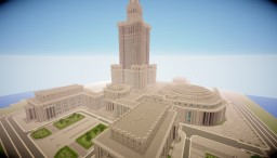 Palace of Culture and Science Minecraft Map & Project