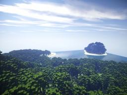 Tropical Terrain (A 1k x 1k test map) Minecraft Map & Project