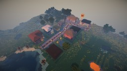"Small ""modern"" village Minecraft Map & Project"