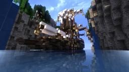 Raven-Class-Battleship----[free schematic] Minecraft Map & Project