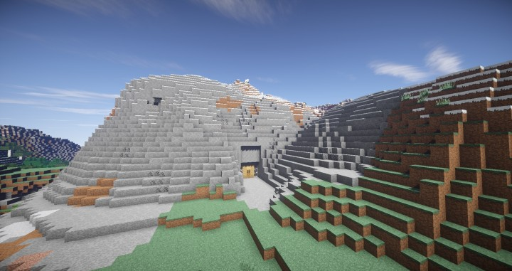 Basic mountain house minecraft project - Mountain house projects ...