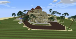 jar9's Sanstone Mansion [Furnished | PvP / Normal] Minecraft Map & Project