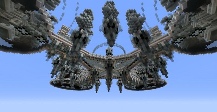 Frozen Sky Hub Minecraft Project