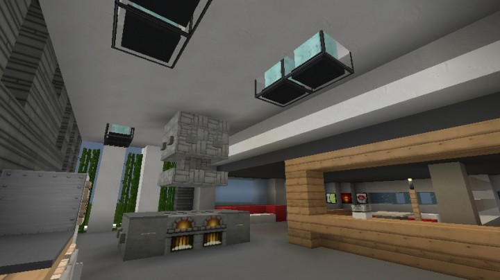 OLDPetite maison moderne / Small modern house Minecraft Map