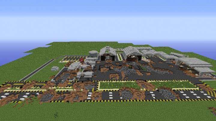 Minecraft [1.7.10] War Map Minecraft Project