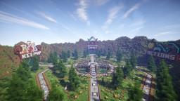 EPIC 4 Portal Hub Spawn [1.7 - 1.14] Minecraft Map & Project