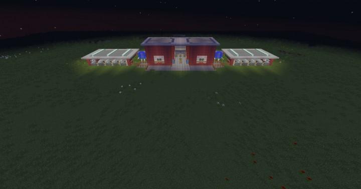 Theme Park Entrance Minecraft Project