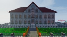 Huge Mansion Minecraft Map & Project