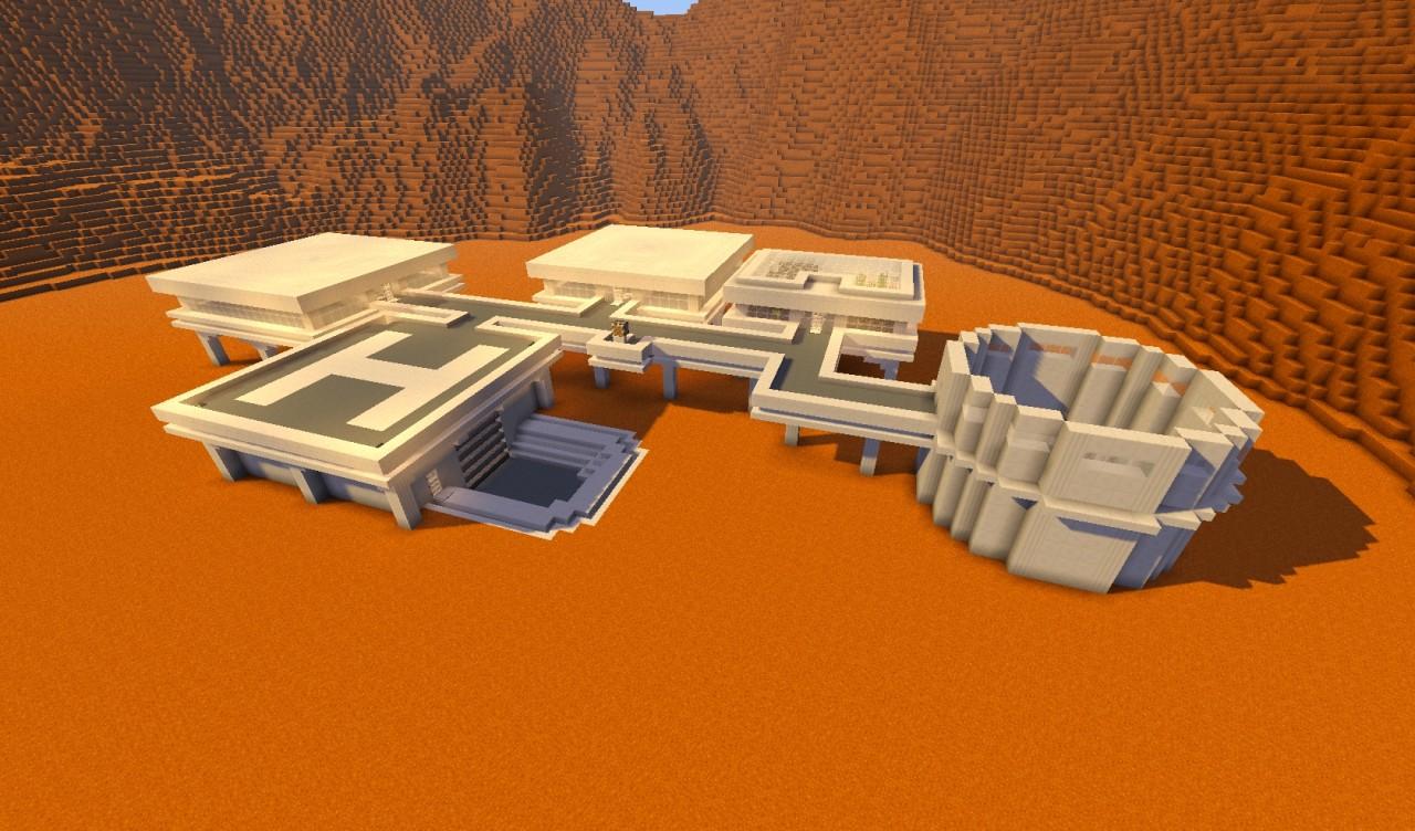 mars base minecraft - 1280×752