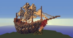 Ship #1 Minecraft Map & Project