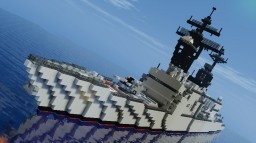 USS Spruance class Destroyer Minecraft