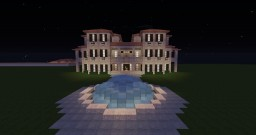 Italian Inspired Mansion [.Schematic] Minecraft Map & Project