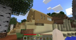 Middle Earth high rise balcony project multiple extensions on lake and beach. Minecraft Map & Project