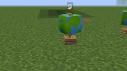 globe with 1 command! Minecraft