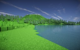 Custom Mountain Range Minecraft Map & Project