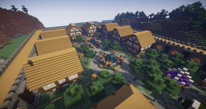 VoidRealms Towny Minecraft Server
