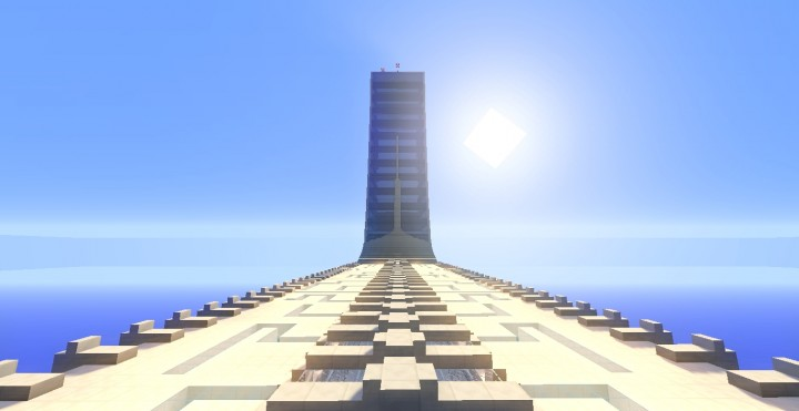 futuristic skyscraper 1 minecraft project
