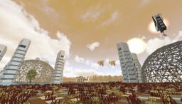 Kepler 296f - [Futuristic colony] - DISCONTINUED Minecraft Map & Project