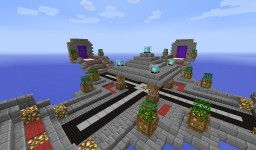 Ultimate Server Spawn | Created By TurkishGamerHD Minecraft Project