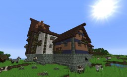 Super-fortified Micro-village Minecraft Project