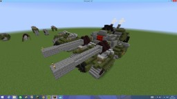 Apocalypse Tank: Red Alert 3 Minecraft Project