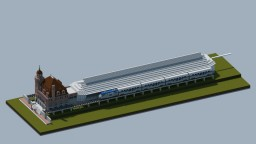 Main Street Station, Richmond VA Minecraft Map & Project