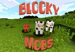 Blocky Mobs Minecraft Texture Pack