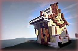 Futuristic house.