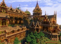 Palace of the forest Minecraft Project