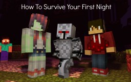 °rιceвowl° How To Survive Your First Night Minecraft