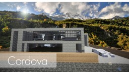 Cordova || Modern Home Minecraft Project