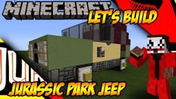 Jurassic Park Jeep Minecraft Project
