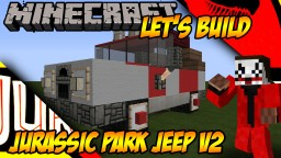Jurassic Park Jeep v2 Minecraft Project
