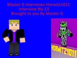 Master G interviews Horwitz1011 (Pop Reel) Minecraft Blog Post